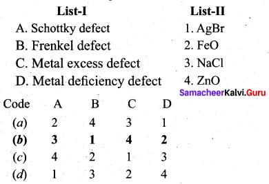Tamil Nadu 12th Chemistry Model Question Paper 1 English Medium - 1