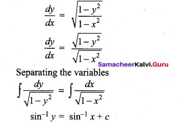 Tamil Nadu 12th Maths Model Question Paper 3 English Medium - 12