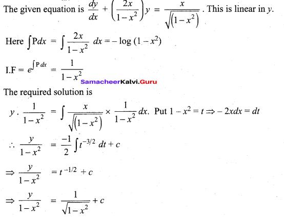 Tamil Nadu 12th Maths Model Question Paper 3 English Medium - 30