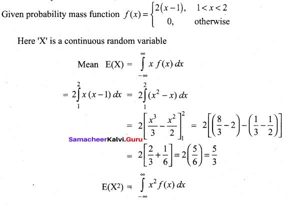 Tamil Nadu 12th Maths Model Question Paper 4 English Medium - 52