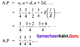Ex 2.5 Class 10 Samacheer Chapter 2 Numbers And Sequences