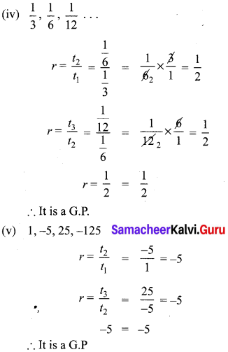 Ex 2.7 Class 10 Samacheer Kalvi Maths Solutions Chapter 2 Numbers And Sequences