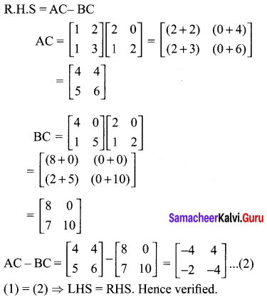 Samacheerkalvi.Guru 10th Maths Solutions Chapter 3 Algebra Ex 3.18