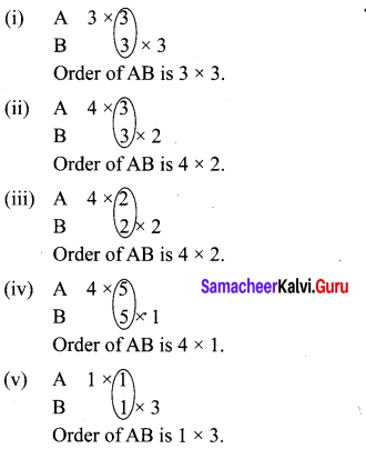 10th Maths Exercise 3.18 Samacheer Kalvi Chapter 3 Algebra
