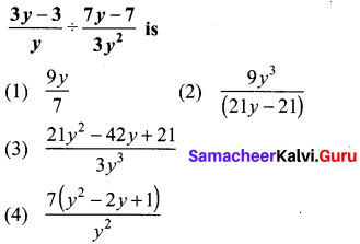 10th Maths Exercise 3.19 Answers Solutions Chapter 3 Algebra Samacheer Kalvi