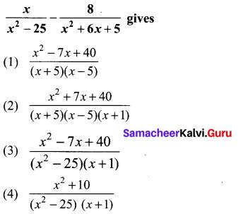 10th Maths 3.19 Solutions Chapter 3 Algebra Samacheer Kalvi