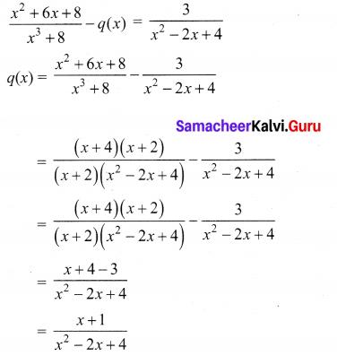 10th Maths Ex 3.6 Samacheer Kalvi Chapter 3 Algebra