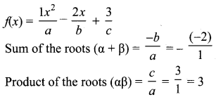 10th Maths Solutions Chapter 3 Algebra Unit Exercise 3 Samacheer Kalvi