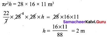 Samacheer Kalvi 10th Maths Chapter 7 Mensuration Additional Questions 2