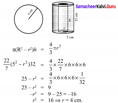 Class 10 Maths Exercise 7.4 Solutions Chapter 7 Mensuration