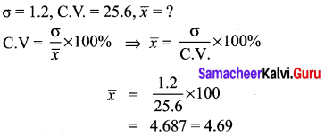 10th Maths Exercise 8.2 Samacheer Kalvi Solutions Chapter 8 Statistics And Probability