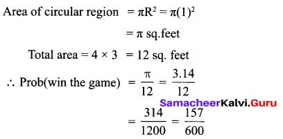 10th Exercise 8.3  Chapter 8 Statistics And Probability Samacheer Kalvi