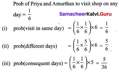 Class 10 Maths Exercise 8.3 Solutions Chapter 8 Statistics And Probability Samacheer Kalvi