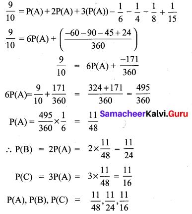 10th Math 8.4 Solution Samacheer Kalvi Chapter 8 Statistics And Probability