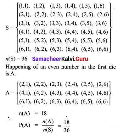 Ex 8.4 Class 10 Samacheer Kalvi Maths Solutions Chapter 8 Statistics And Probability