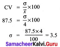 Samacheer Kalvi 10th Maths Chapter 8 Statistics and Probability Ex 8.5 2