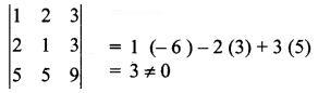 Samacheer Kalvi 12th Business Maths Solutions Chapter 1 Applications of Matrices and Determinants Ex 1.4 11