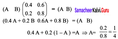 Samacheer Kalvi 12th Business Maths Solutions Chapter 1 Applications of Matrices and Determinants Ex 1.4 3