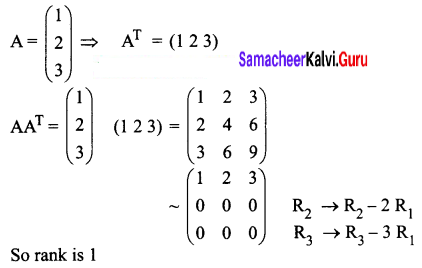 Samacheer Kalvi 12th Business Maths Solutions Chapter 1 Applications of Matrices and Determinants Ex 1.4 6