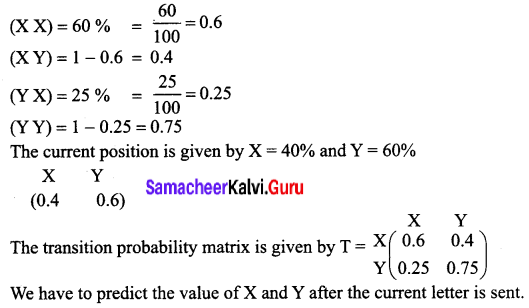 Samacheer Kalvi 12th Business Maths Solutions Chapter 1 Applications of Matrices and Determinants Miscellaneous Problems 11