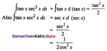 Samacheer Kalvi 12th Business Maths Solutions Chapter 2 Integral Calculus I Additional Problems 11