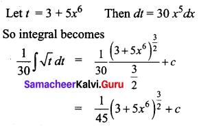Samacheer Kalvi 12th Business Maths Solutions Chapter 2 Integral Calculus I Additional Problems 19