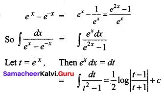 Samacheer Kalvi 12th Business Maths Solutions Chapter 2 Integral Calculus I Additional Problems 28