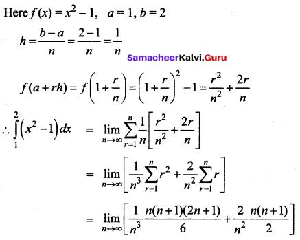 Samacheer Kalvi 12th Business Maths Solutions Chapter 2 Integral Calculus I Additional Problems 31