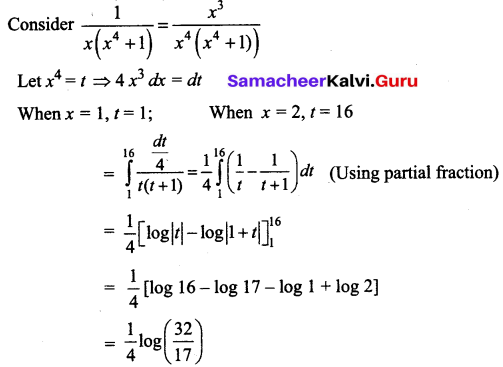 Samacheer Kalvi 12th Business Maths Solutions Chapter 2 Integral Calculus I Additional Problems 33
