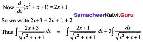Samacheer Kalvi 12th Business Maths Solutions Chapter 2 Integral Calculus I Additional Problems 37