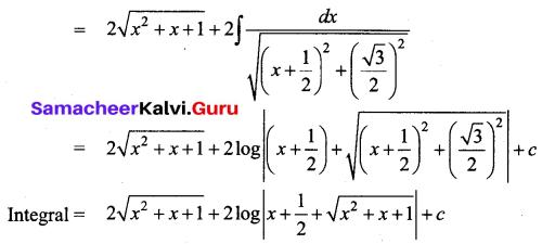 Samacheer Kalvi 12th Business Maths Solutions Chapter 2 Integral Calculus I Additional Problems 38