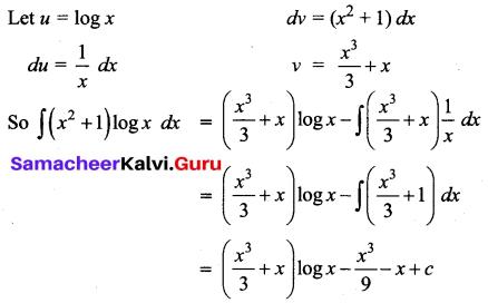 Samacheer Kalvi 12th Business Maths Solutions Chapter 2 Integral Calculus I Additional Problems 39