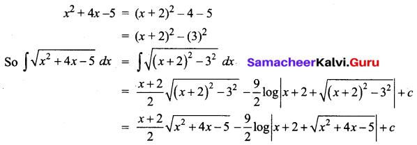 Samacheer Kalvi 12th Business Maths Solutions Chapter 2 Integral Calculus I Additional Problems 40