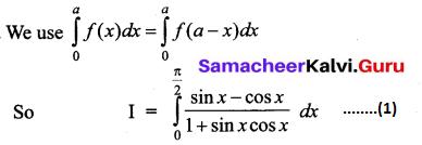 Samacheer Kalvi 12th Business Maths Solutions Chapter 2 Integral Calculus I Additional Problems 44
