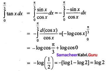 Samacheer Kalvi 12th Business Maths Solutions Chapter 2 Integral Calculus I Ex 2.12 Q24