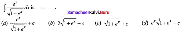 Samacheer Kalvi 12th Business Maths Solutions Chapter 2 Integral Calculus I Ex 2.12 Q6