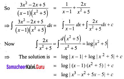Samacheer Kalvi 12th Business Maths Solutions Chapter 2 Integral Calculus I Ex 2.2 Q7.2
