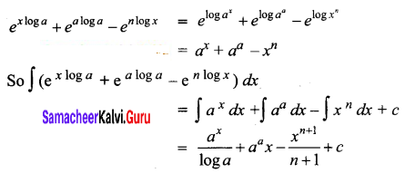 Samacheer Kalvi 12th Business Maths Solutions Chapter 2 Integral Calculus I Ex 2.3 Q1