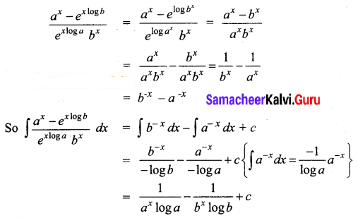 Samacheer Kalvi 12th Business Maths Solutions Chapter 2 Integral Calculus I Ex 2.3 Q2