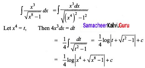 Samacheer Kalvi 12th Business Maths Solutions Chapter 2 Integral Calculus I Ex 2.7 Q11