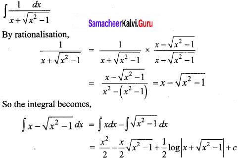 Samacheer Kalvi 12th Business Maths Solutions Chapter 2 Integral Calculus I Ex 2.7 Q16