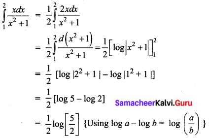 Samacheer Kalvi 12th Business Maths Solutions Chapter 2 Integral Calculus I Ex 2.8 I Q3