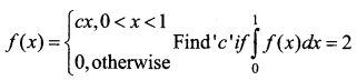 Samacheer Kalvi 12th Business Maths Solutions Chapter 2 Integral Calculus I Ex 2.8 II Q4