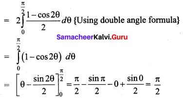 Samacheer Kalvi 12th Business Maths Solutions Chapter 2 Integral Calculus I Ex 2.9 Q2.1