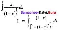 Samacheer Kalvi 12th Business Maths Solutions Chapter 2 Integral Calculus I Ex 2.9 Q6