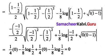Samacheer Kalvi 12th Business Maths Solutions Chapter 2 Integral Calculus I Miscellaneous Problems Q8.1