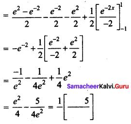 Samacheer Kalvi 12th Business Maths Solutions Chapter 2 Integral Calculus I Miscellaneous Problems Q9.1