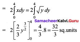 Samacheer Kalvi 12th Business Maths Solutions Chapter 3 Integral Calculus II Ex 3.1 Q7.1