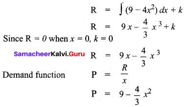 Samacheer Kalvi 12th Business Maths Solutions Chapter 3 Integral Calculus II Ex 3.2 Q11