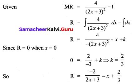 Samacheer Kalvi 12th Business Maths Solutions Chapter 3 Integral Calculus II Ex 3.2 Q12